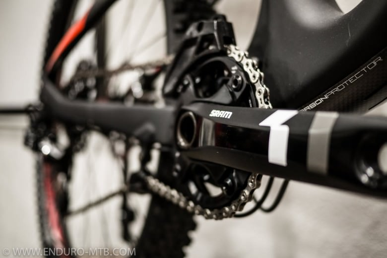 Syncros components (carbon); the handlebar has a width of 760 mm