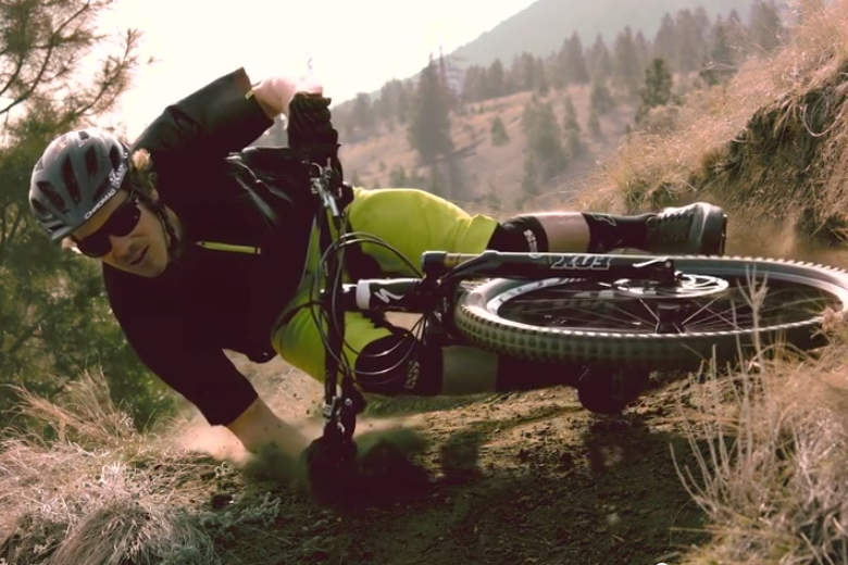 Matt Hunter on his Specialized S-Works Enduro 29 mountainbike