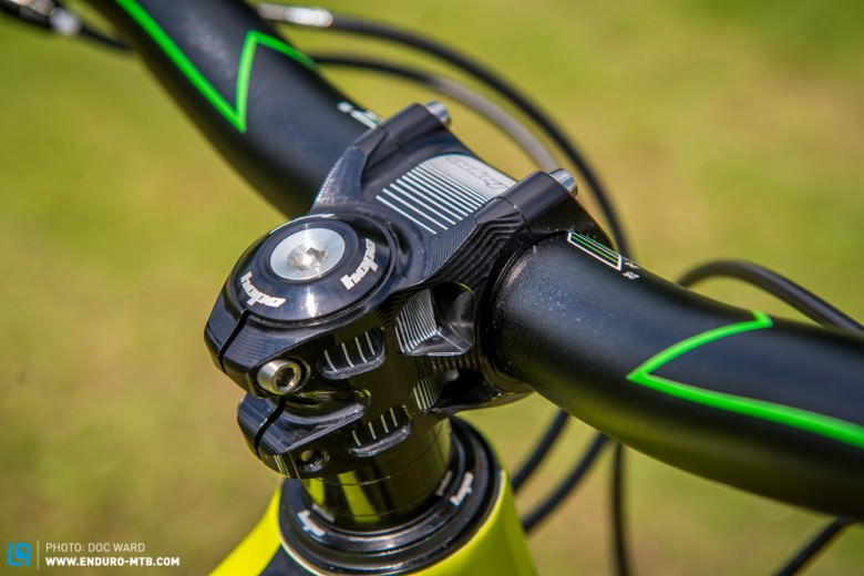 We have been running a new 35mm stem for some time now and think that it is certainly the most attractive on the market!