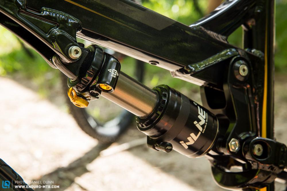Cane Creek releases new Double Barrel Inline rear shock.