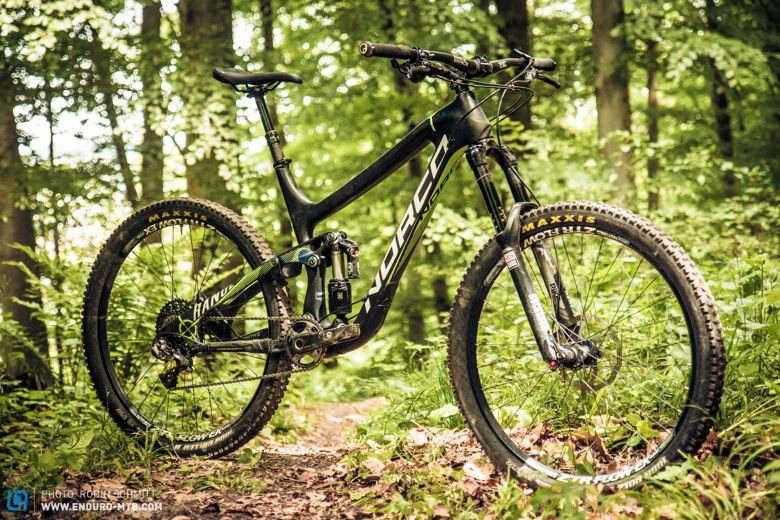 enduro mountainbike magazin norco range limited edition le reviewed longterm test team tested-16