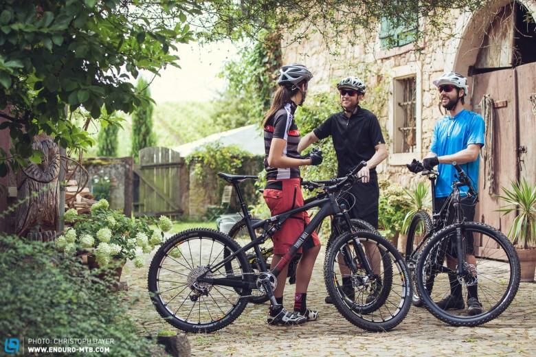 Bikes Xc Vs Trail Bestes Wetter und gute Laune