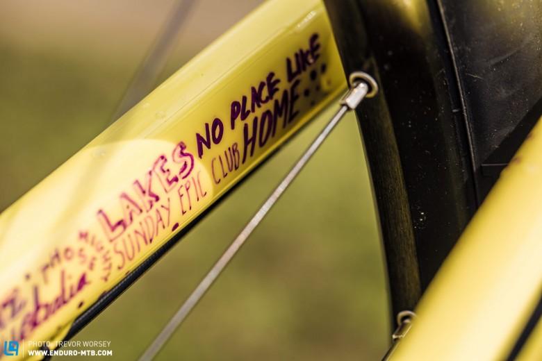 Spy Shots | Cannondale Alpine Bikes World Enduro Pit Walk